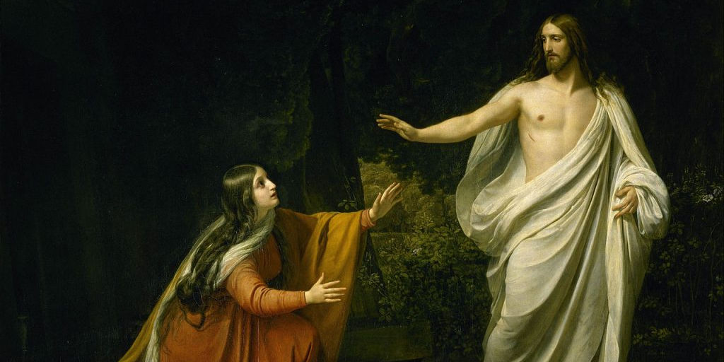 'Christ's Appearance to Mary Magdalene after the Resurrection' by Alexander Andreyevich Ivanov, 1835. (Credit: From the collection of The State Russian Museum, St. Petersburg.)